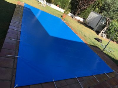Medición y presupuesto de su cubierta de protección para piscina. Proyecto llave en mano.