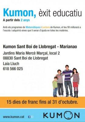 15 días de franc fins al 31 d'octubre 15 días gratis hasta el 31 de octubre
