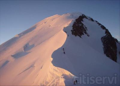 Ascension guiada al Mont Blanc
