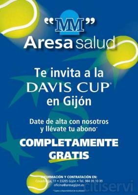 Llévate un abono de tres días para ver a la Armada en la semifinal de la Copa Davis en Gijón, los días 14, 15 y 16 de septiembre contra EEUU, solo por darte de alta en una póliza familiar de salud de al menos 3 miembros.  Completamente gratis, sin
