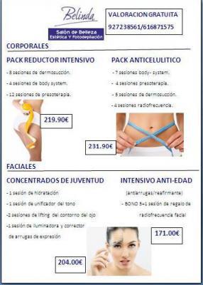 tratamientos corporales y faciales