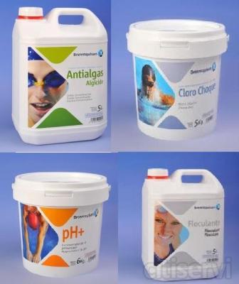 Oferta en toda la gama profesional de productos qumicos para piscinas BRENNQUISAN.