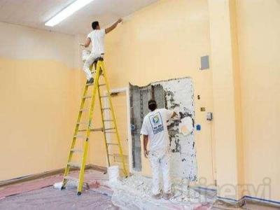 Pinte su piso o local completo en blanco por 380/e TLF:635.30.88.47.