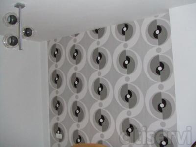 Decora caulquier parte de tu casa o negocio con papel pintado a un excelente precio de colocación a partir  de 6 €/m2