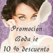 Durante el mes de mayo, In Extremis Joyas ha lanzado una promoción especial para la novia, 10 % de descuento en su colección Boda IE.