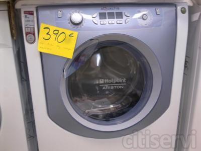 lavadora ariston 8kg 390€