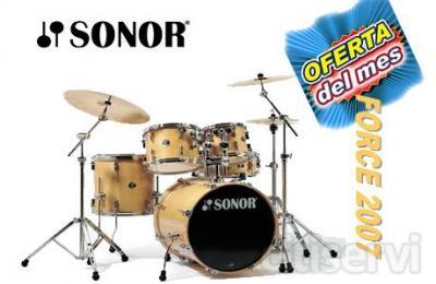 Batería Sonor Force 2007 y llévate tu regalo