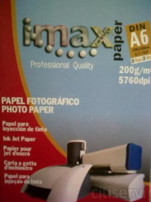 Ahora, por la compra de un cartucho de tinta genérico, negro o de color, llévate de regalo un paquete de papel fotográfico, brillo, 20 hojas, tamaño A6 gratis.