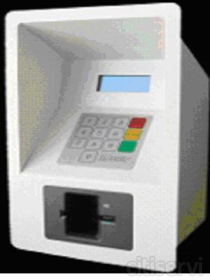 GPATM Terminal Tarjeta crédito  es un sistema multiplicación de lectura de tarjetas de crédito, débito, chip y propietarias, para aplicaciones de pago en terminales no atendidos con validación de PIN online. El terminal  está basado en un módulo d
