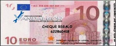 Los Reyes te traen un regalo para reparaciones, 10€ de descuento directo en Reparación de Calderas y otros Electrodomésticos