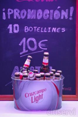10 botellines 10 €
