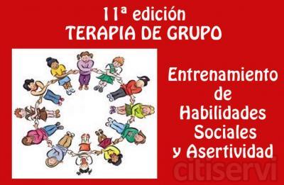 Como cada trimestre, se inicia la nueva edición de TERAPIA DE GRUPO en la que se entrenan  las habilidades sociales en general, haciendo especial hincapié en una de ellas, la ASERTIVIDAD.   Consta de 8 semanas de entrenamiento en grupos de máximo 5-6