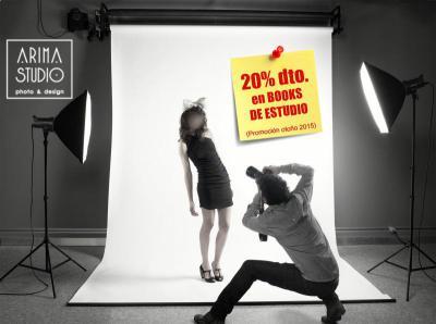 ¡¡SIÉNTETE COMO UN/A MODELO POR UN DÍA!!  Date un capricho o regálaselo a alguien muy especial...  INCLUYE: 10 fotos retocadas al detalle, tamaño calidad web o en papel (15x20).