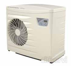 · La mejor relación calidad-precio del mercado. · Compresor rotativo muy silencioso. · Fluido frigorífico R 410A. · Función prioridad de calentamiento. · Arranque progresivo.