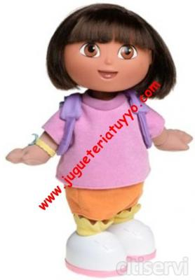 DORA LA EXPLORADORA BAILA Y CANTA www.jugueteriatuyyo.com