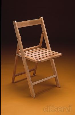 Silla de madera plegable servicios de restauracion gesona for Silla escalera de madera plegable
