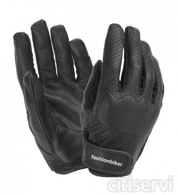 Negro  5 tallas XS / XL  •Palma de cuero  •Dorso de cuero perforado para facilitar la ventilación  •Protección del dorso con acolchado de espuma  •Dedos elásticos para mayor comodidad  •Cinta ajustable para las muñecas