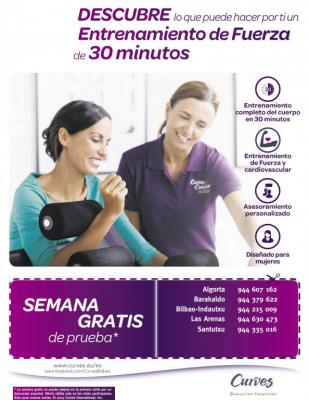 Prueba una semana gratis fussion beauty point vizcaya for Gimnasio 30 minutos