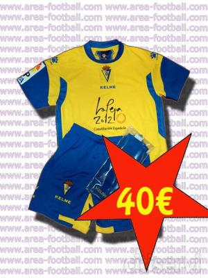 Equipaciones oficiales a 40