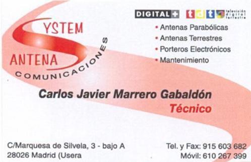 Antenasystem