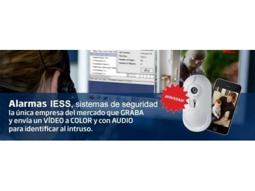 Instalación de alarmas con vídeo verificación.