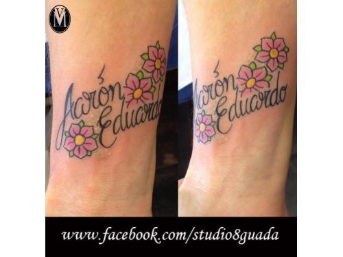 Tatuajes nombres guadalajara