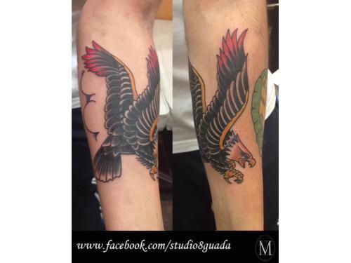 Aguila estilo tradicional