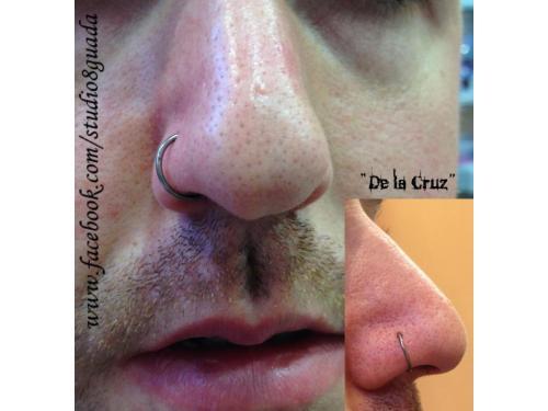 Piercing nariz aro primera puesta