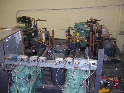 maquinaria frigorifica para tuneles de conservacion
