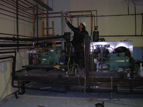 montaje realizado en industrias carnicas ramajo Guadalajara  Quer, España