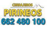 Cerrajeros Huesca Pirineos - 24 horas - 662 480 100