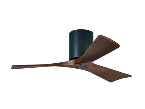 CASA BRUNO Irene Hugger DC-ventilador de techo Ø 107 cm, negro, 3 aspas de madera