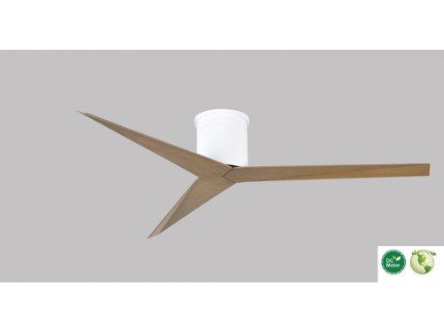 CASA BRUNO Eliza Hugger ventilador de techo Ø 142 cm, blanco / fresno gris