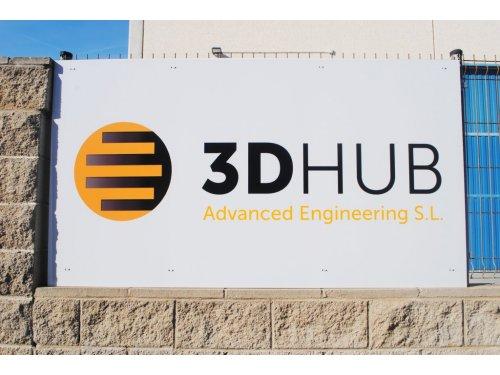 cartel exterior 3D Hub