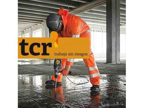 TCR Protección. Equipos de protección individual EPIs de seguridad y protección laboral