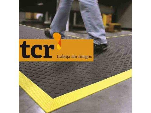 TCR Protección. Ergonomía; alfombras y suelos modulares ergonómicos antifatiga