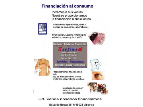 Serfimed financiación al consumo