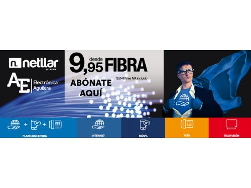Netllar fibra 9,95€