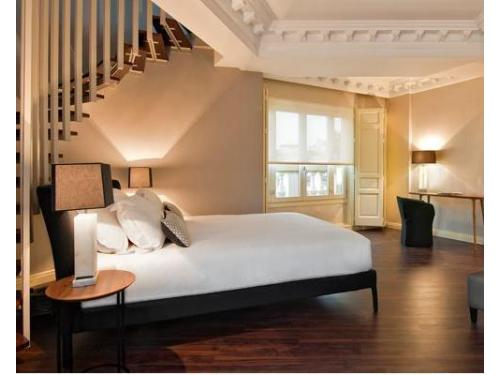 Habitación de Hotel Innside Madrid Luchana
