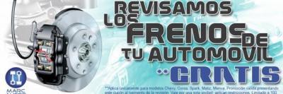 REVISION DE DISCOS Y PASTILLAS DELANTERAS Y TRASERAS