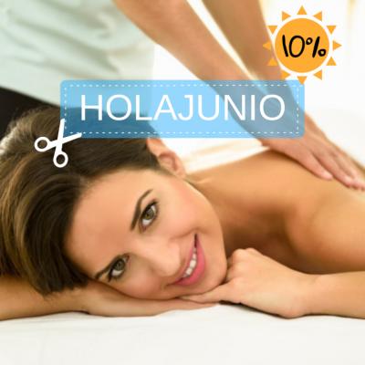 Disfruta de un 10% de descuento en tus bonos y sesiones de fisioterapia aplicando el código HOLAJUNIO.   Cuídate al mejor precio y empieza junio con una sonrisa.