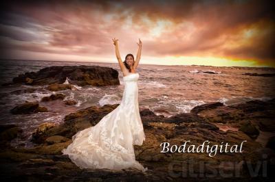 reportaje de fotografia de boda mas video tradicional 850€