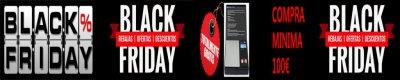 Cada viernes, sábado y domingo tenemos nuestro particular BLACK FRIDAY.  Llévate una balanza totalmente gratis con tu compra.
