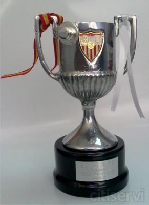 Trofeo en Miniatura COPA DEL REY