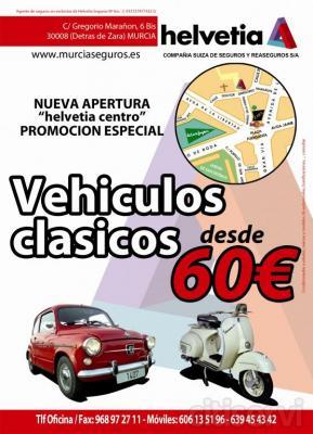 Seguros vehículos clásicos desde 60 €