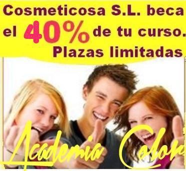 La empresa COSMETICOSA S.L. apoya la formación profesional de los jóvenes.  15 jóvenes asturianos podrán beneficiarse de una beca de ayuda para estudiar peluquería o estética..  La empresa ovetense COSMETICOSA S.L., distribuidora en exclusiva para A