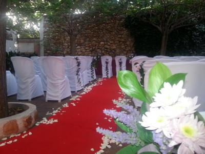 Pidenos presupuesto y te aplicaremos un 5% de Dto sobre el total del importe de vuestra boda