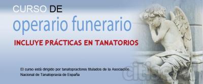 Curso de Operario funerario semipresencial, con prácticas reales en Tanatorios. Avalado por la Asocioación Española de Tanatopraxia.