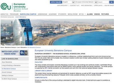 La Escuela Mediterraneo Barcelona ofrece el 10% de descuento en sus cursos de español como lengua extranjera para los estudiantes de European University.