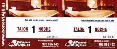 Por compras superiores a 600 €, te regalamos un bono hotel